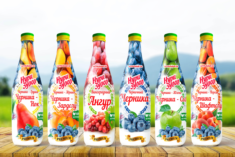 Визуальный вид на бутылках 2